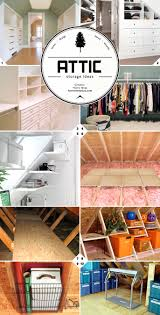 Home Storage Ideas by Finished And Unfinished Attic Storage Ideas Home Tree Atlas