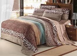 Leopard Print Duvet Animal Print Duvet Covers Sweetgalas