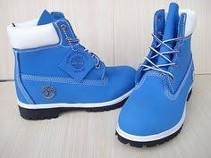 shoes baby blue timberland boots the swagg pinterest blue