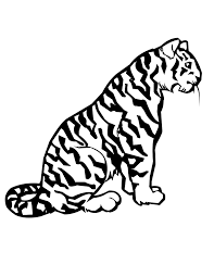 coloring page tiger glamorous bengal tiger coloring pages 24