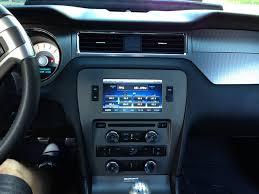mustang navigation amdanbailer installs raxiom s gps navigation fits 2010