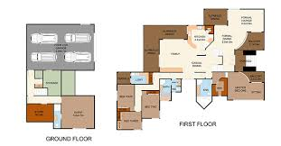 Color Floor Plan 2d 3d Floor Plan Services In Bangalore India