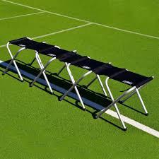 Portable Sports Bench Portable Aluminum Soccer Team Bench Net World Sports
