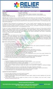 relief international ri job circular september 2017 bd career