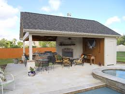 Backyard House Ideas Pool Houses Outdoor Living