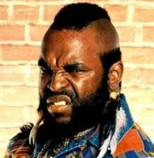 mr t earrings why does mr t look like he just smelled a i the 80s