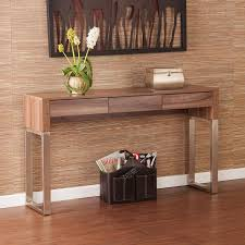 Storage Console Table Topped U Legs Console Sofa Table