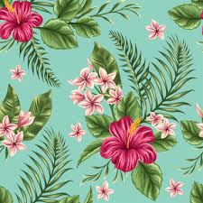 flowers seamless pattern element vector background retro flowers seamless pattern element background free vector