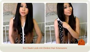 vp extensions einfache locken mit ombre hair extensions bei vpfashion deblog