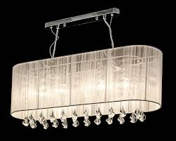 Shaded Crystal Chandelier Long Chandelier Editonline Us