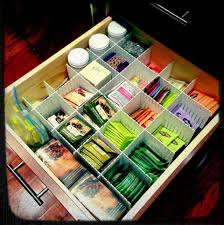 tea drawer my organized tea drawer finally i used some dividers i got from