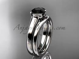 gold platinum rings images Vintage wedding sets platinum black diamond ring vd10016s jpg
