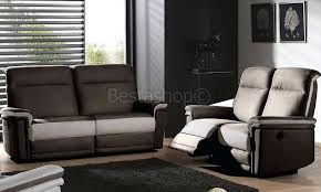 canapé relax 2 places tissu canape 3 2 places tissu relax canapac tiara gris 32 en yudo fair