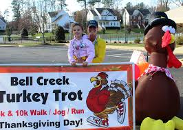 thanksgiving day 10k annual bell creek turkey trot