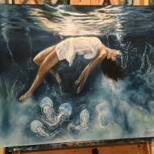 paint dream artist creates fantastical worlds by painting with dreams artist