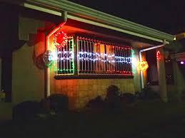 black swamp cornucopia christmas pasko lights decorations and