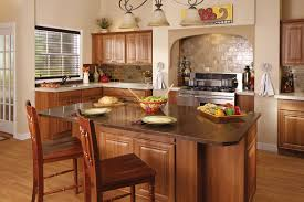 dark granite countertops with oak cabinets u2014 home ideas collection
