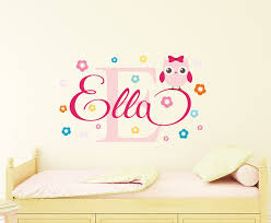 Girls Bedroom Wall Decals Wall Stickers For Girls - Design a wall sticker