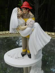 fireman wedding cake toppers fireman wedding cake topper idea in 2017 wedding