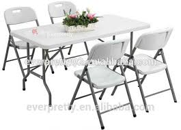 White Folding Table And Chairs Used Plastic Folding Tables Used Plastic Folding Tables Suppliers