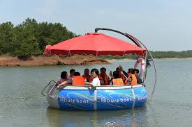 floating picnic table for sale entertainment bbq donut boat with electric motor water bumper and
