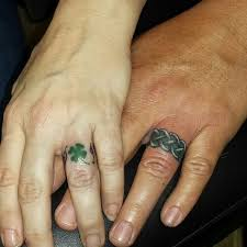 78 wedding ring tattoos done to symbolize your