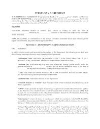 personal loan contract agreement template get my free video