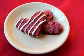 red velvet cookies wright time for a schnack