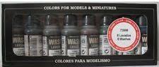 Vallejo Game Color Wash - acrylic washes game color wash set 8x17ml vallejo 73998 ebay