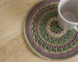 Crochet Table Cloth Crochet Table Mats Etsy