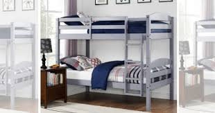 HURRY Wood Bunk Bed Set TWO Twin Mattresses Only  Shipped - Twin mattress for bunk bed