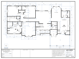 dimensioned floor plan house floor plans ready to build house plans custom home plans
