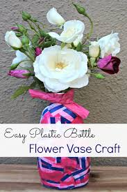 How To Draw A Vase Of Flowers How To Make A Recyclable Plastic Bottle Flower Vase Socal Field