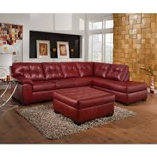 Best Deals On Leather Sofas Red Leather Sofas And Sectionals Centerfieldbar Com