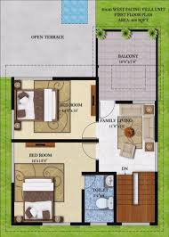 west facing house plans 30 x 60