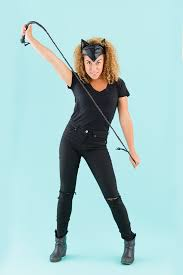 catwoman halloween costume mask 5 easy catwoman costumes for halloween brit co