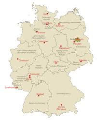 Berlin Germany Map by Map Of Germany Solution Conceptdraw Com
