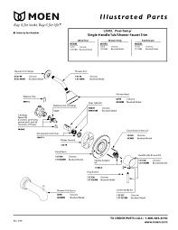 tub faucet parts names shower u0026 bathtub parts u0026 repair