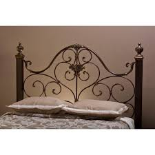 Antique Gold Queen Metal Headboard Mikelson Rc Willey