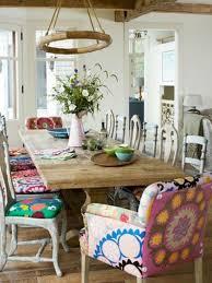 cuisine boheme chic délicieux salle a manger style anglais 10 chaise de cuisine