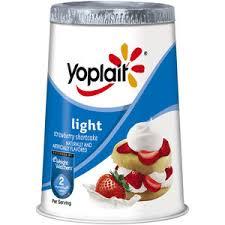 yoplait light yogurt ingredients yoplait light yogurt strawberry shortcake reviews viewpoints com