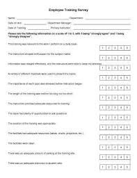 30 sample survey templates in microsoft word