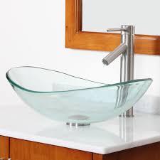 glass bathroom sinks befitz decoration