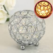 crystal home decor gold crystal votive candle holders for home decor wedding