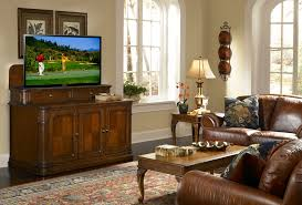 FabulousTvLiftCabinetCostcoDecoratingIdeasImagesinFamily - Traditional family room design ideas