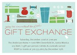 Christmas Party Invitations Pinterest - gift exchange christmas party invitation christmas party