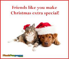 friends christmas extra special ecards