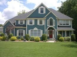 Beautiful Home Exterior Beautiful Home Exterior Decoration Using Light Blue Wood