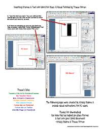 mrs orman u0027s classroom how to insert frames borders or clip art