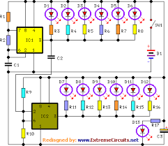 led christmas lights circuit diagram and working u2013 readingrat net